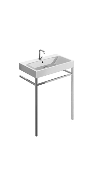 3532_9121 - washbasin 70x45 with free standing unit