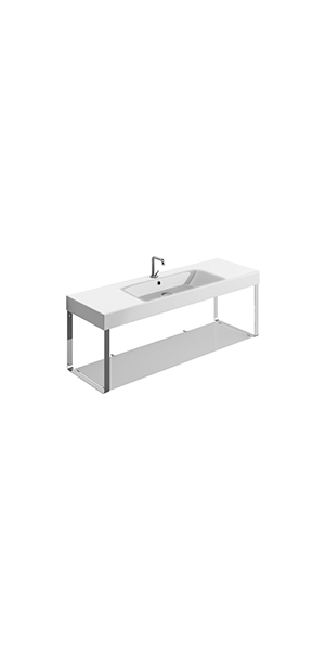 3535_9128 - washbasin 140x45 with Wall hung