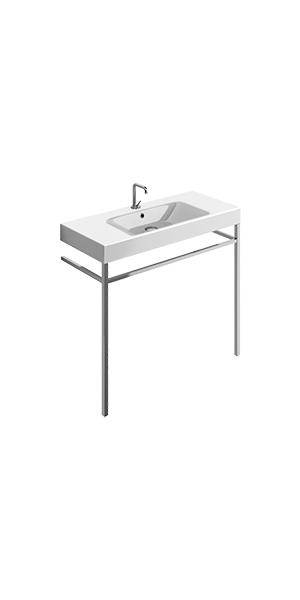 3550_9152 - washbasin 100x45 with free standing unit