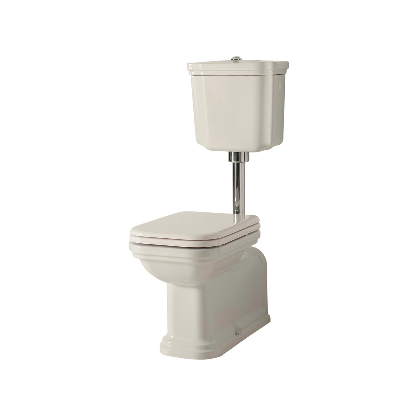 Btw Wc Pan Prolungato Whit Low Level Cistern