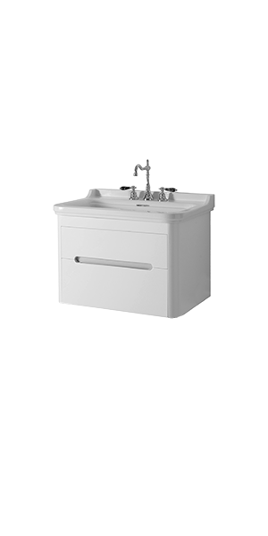4141_9193 - washbasin 80 with wall hung cabinet