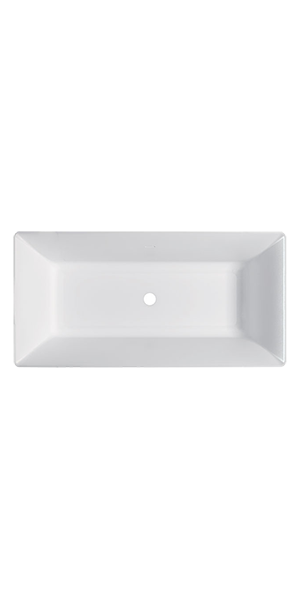7434-7435 - G&M rectangular polymineral bathtub