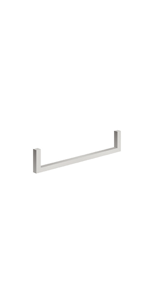 9116 - Front towel rail mm 410 CENTO