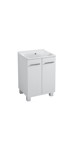 9165 - Forniture whit wash-tub 60x60 and waste plug and siphon