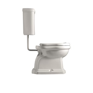 Wc pan whit low level cistern