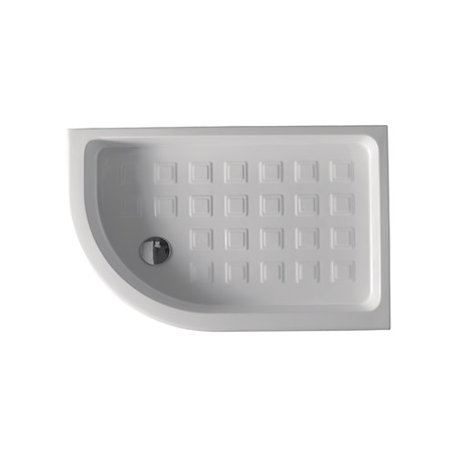 Corner shower tray 80x120 SX