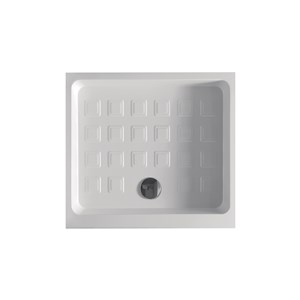 Rectangular recessed shower-tray