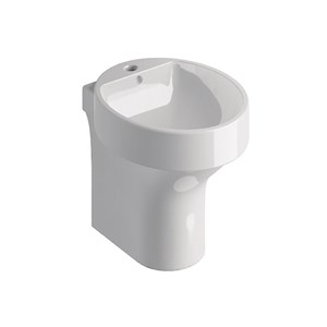 Oval Close coupled bidet