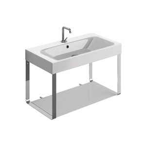 washbasin 80x45 with Wall hung