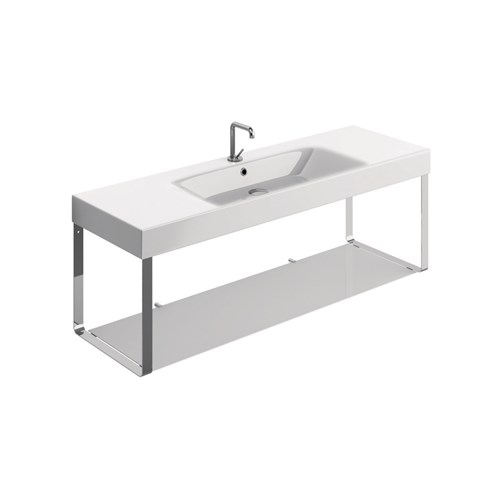 washbasin 140x45 with Wall hung