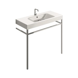 washbasin 100x45 with free standing unit