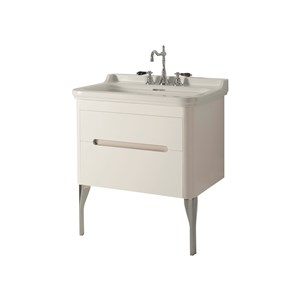 Washbasin 80 with wall hung cabinet
