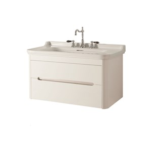 washbasin 100 with wall hung cabinet