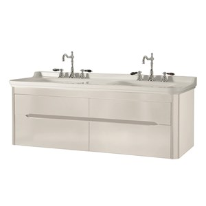 washbasin 150 with wall hung cabinet