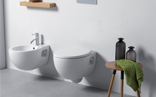 Suspended sanitary ware: increasingly functional
