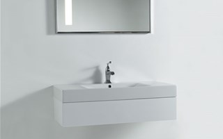 Wall-mounted bathroom vanity units: functionality and style all in one