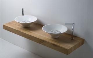 The most sophisticated bathroom sinks of the Decò collection