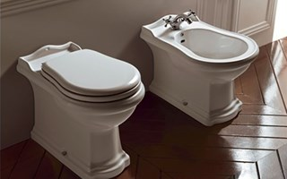 Vintage style sanitary ware