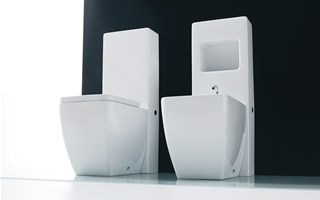 CLOSE-COUPLED toilets